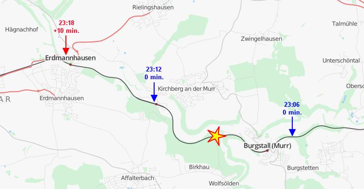 Letzte S4 nach Schwabstraße