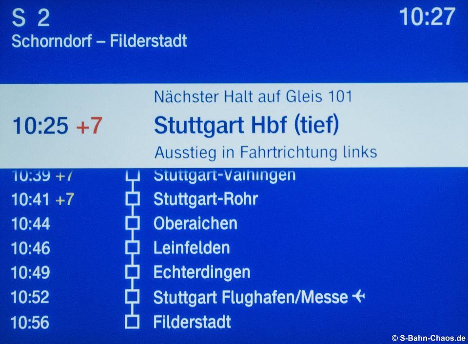FIS-Monitor nächste Halte nach Hbf (tief)