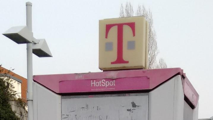 HotSpot in einer Telefonzelle