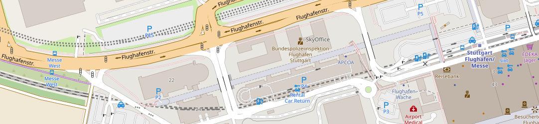 Umgebungskarte (Quelle: OpenstreetMaps)