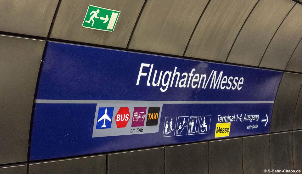 S-Bahn-Station Flughafen-Messe