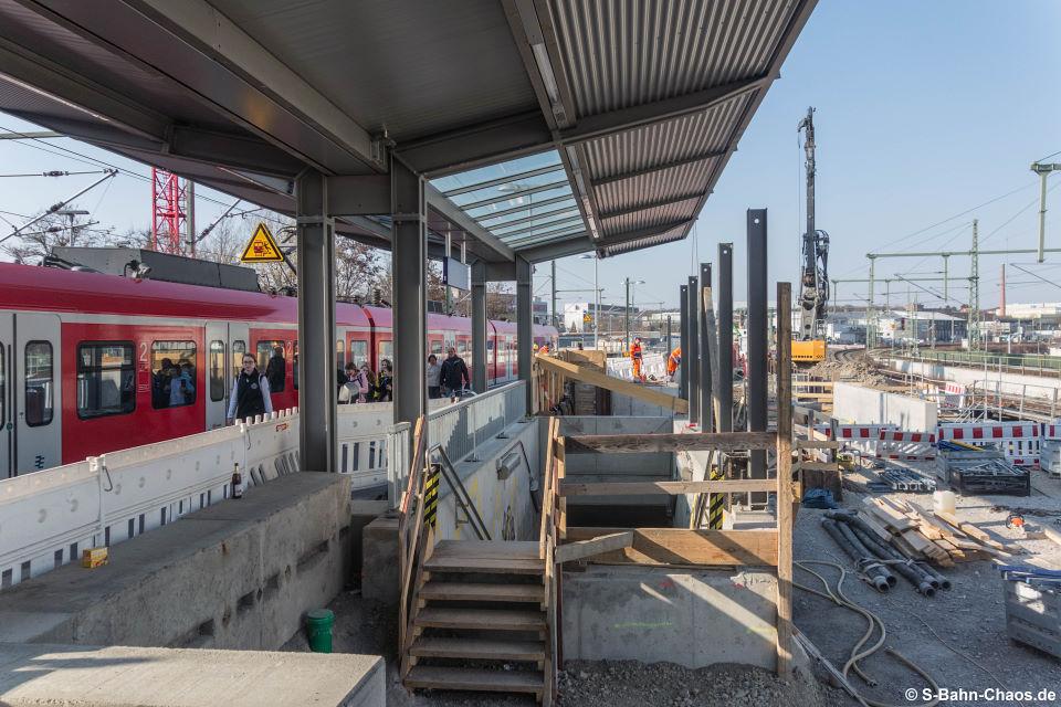Baustelle Bahnhof Feuerbach