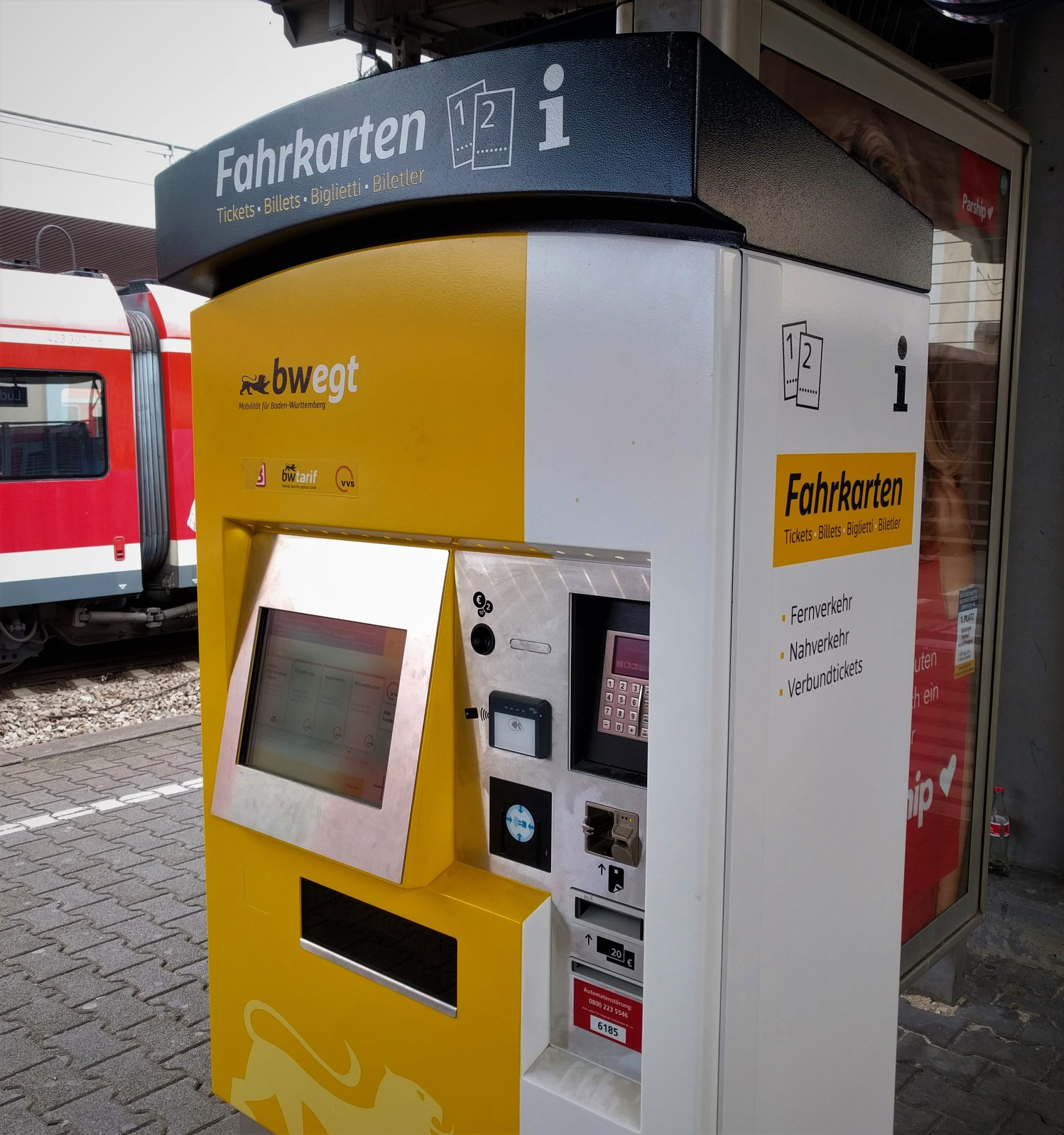 Abellio Automat Ludwigsburg